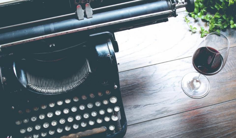Ouderwetsche typemachine