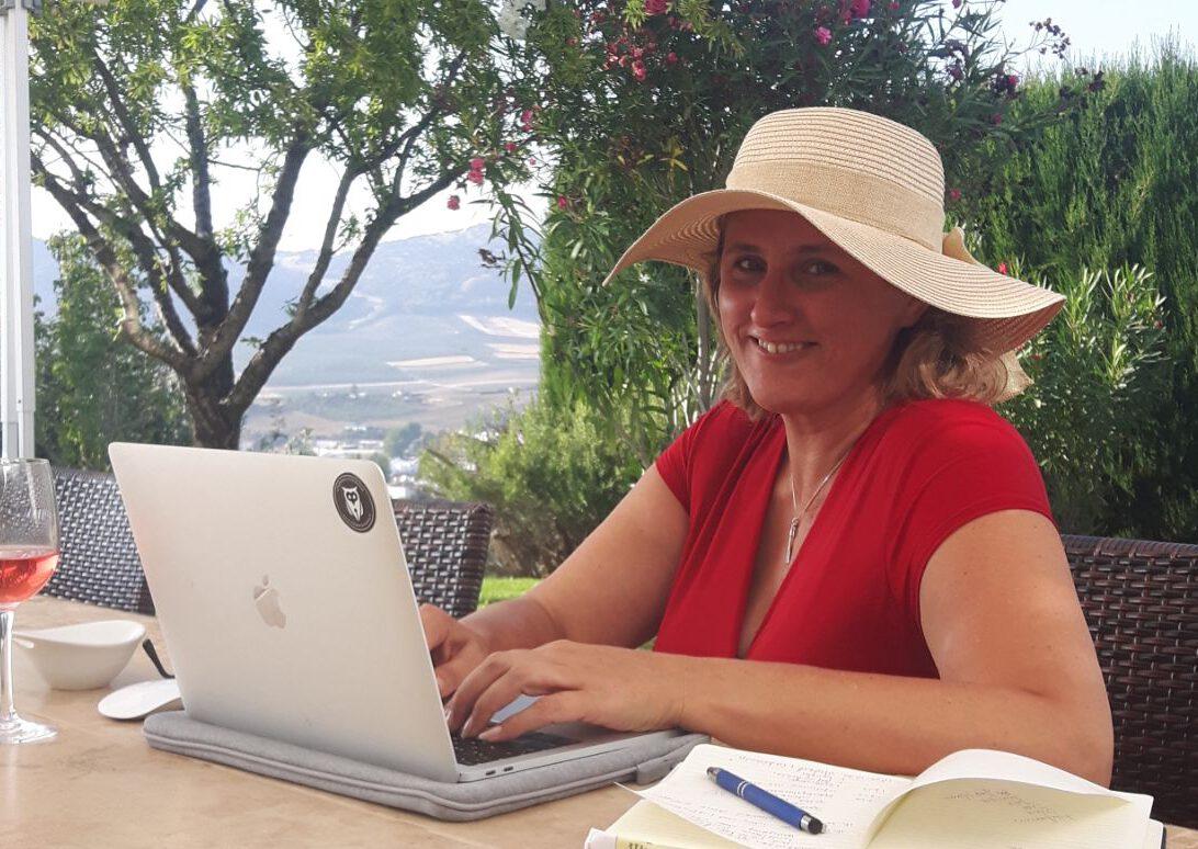 Schrijven onder de olijfboom