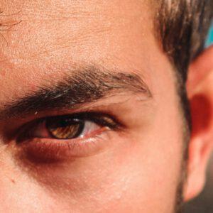 Boos oog