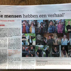2020 Humans of Zwolle in de Peperbus