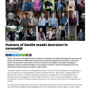 2020 Humans of Zwolle in de Peperbus online