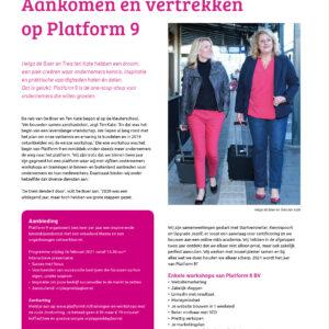 2021 Platform 9 in ZON Magazine
